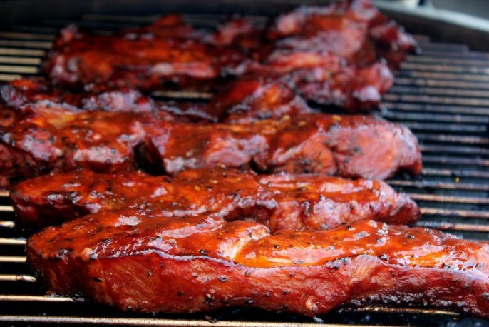 Smoked Country Style Pork Ribs  Smoked Pork Country Style Ribs Cherry Dr Pepper Theme