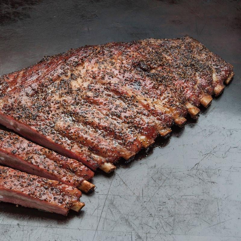 Smoked Pork Ribs  BBQ Pork Spare Ribs