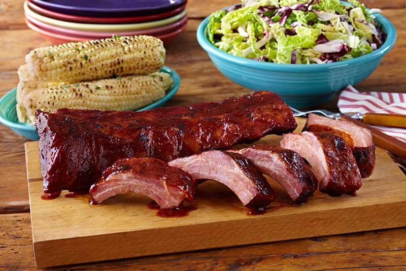 Smoked Pork Ribs  Smoked Pork Baby Back Ribs Eureka Sausage North Hollywood