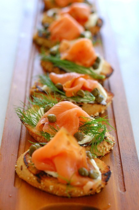 Smoked Salmon Appetizer  Smoked Salmon Dill and Capers Appetizer