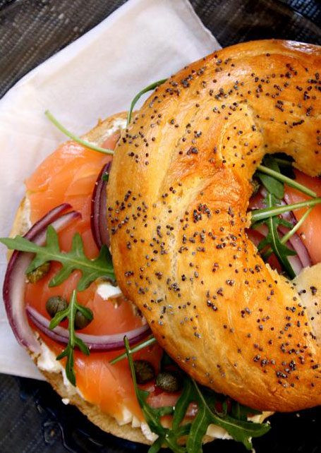 Smoked Salmon Bagel  Smoked Salmon Bagel Recipe — Eatwell101