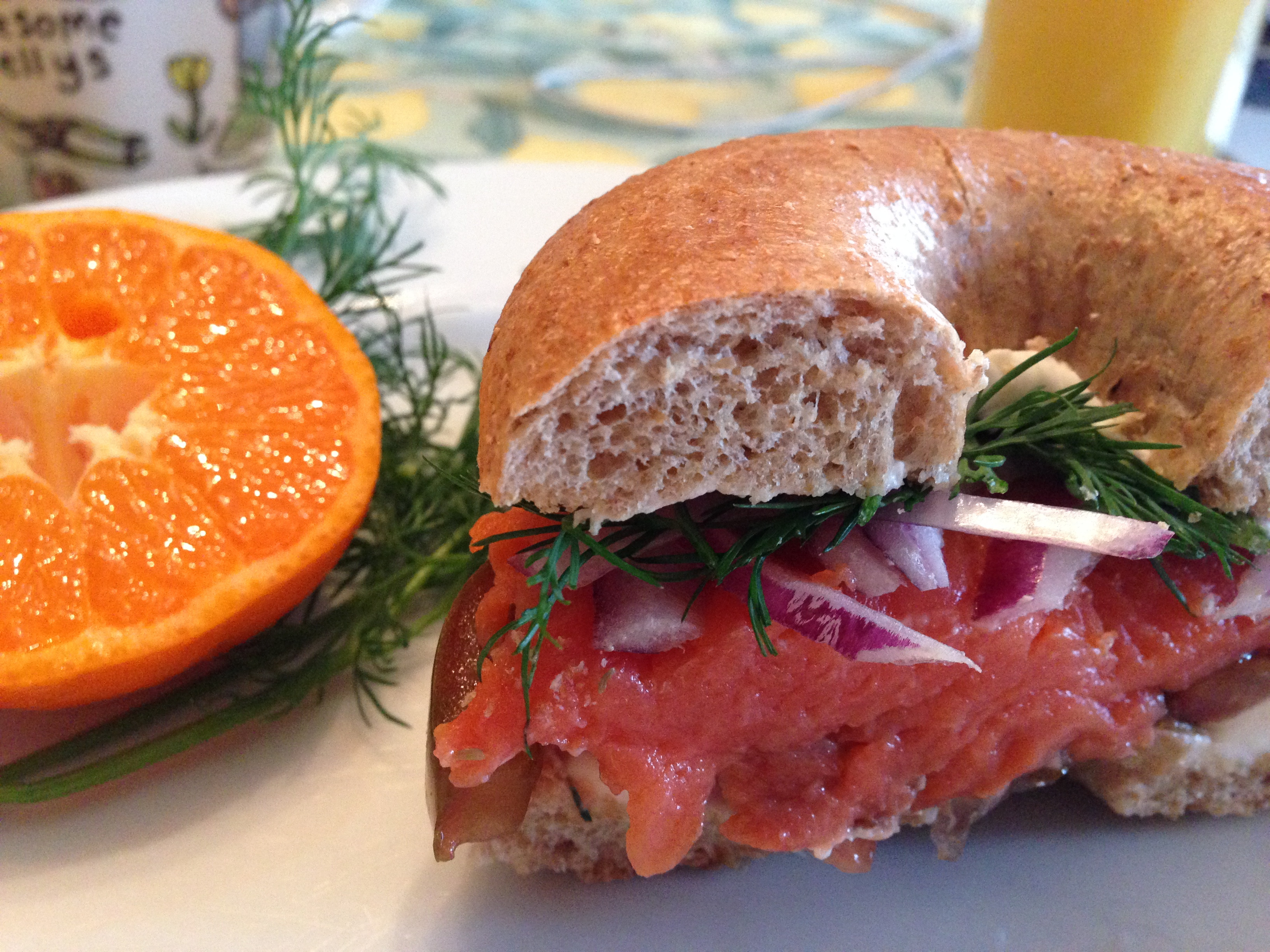 Smoked Salmon Bagel  Smoked Salmon Bagel Sandwich A Food Lover s Delight