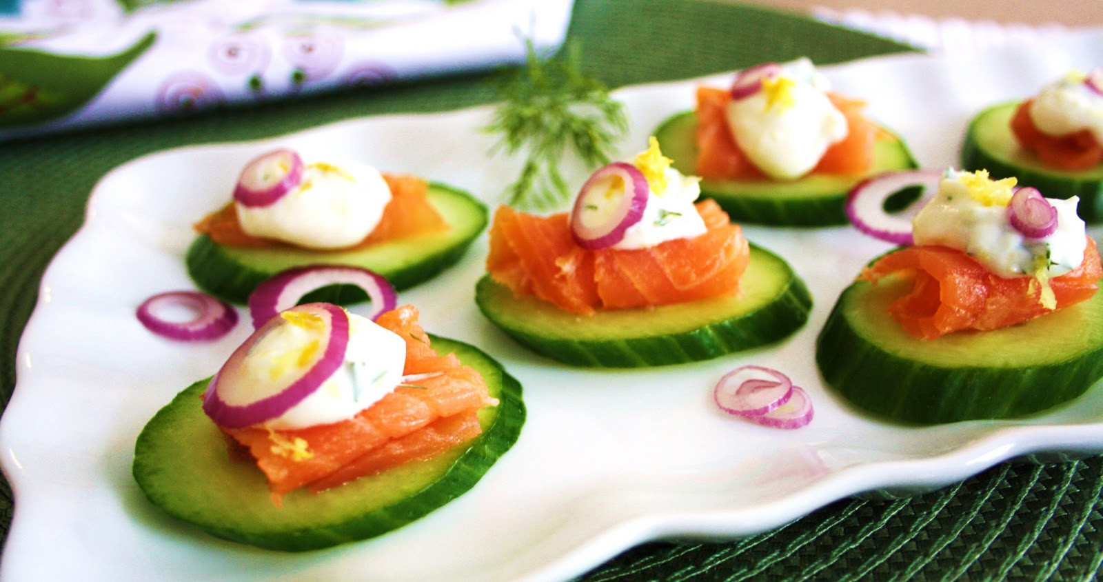 Smoked Salmon Canapes  Simple and Delicious Smoked Salmon Canapés