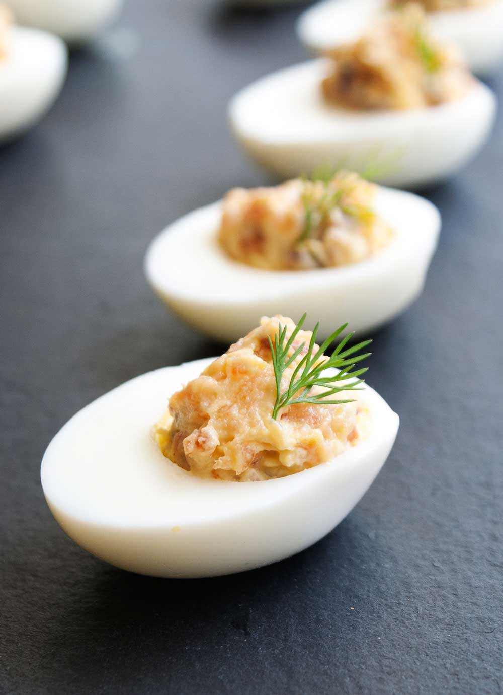 Smoked Salmon Deviled Eggs  Smoked Salmon Devilled Eggs