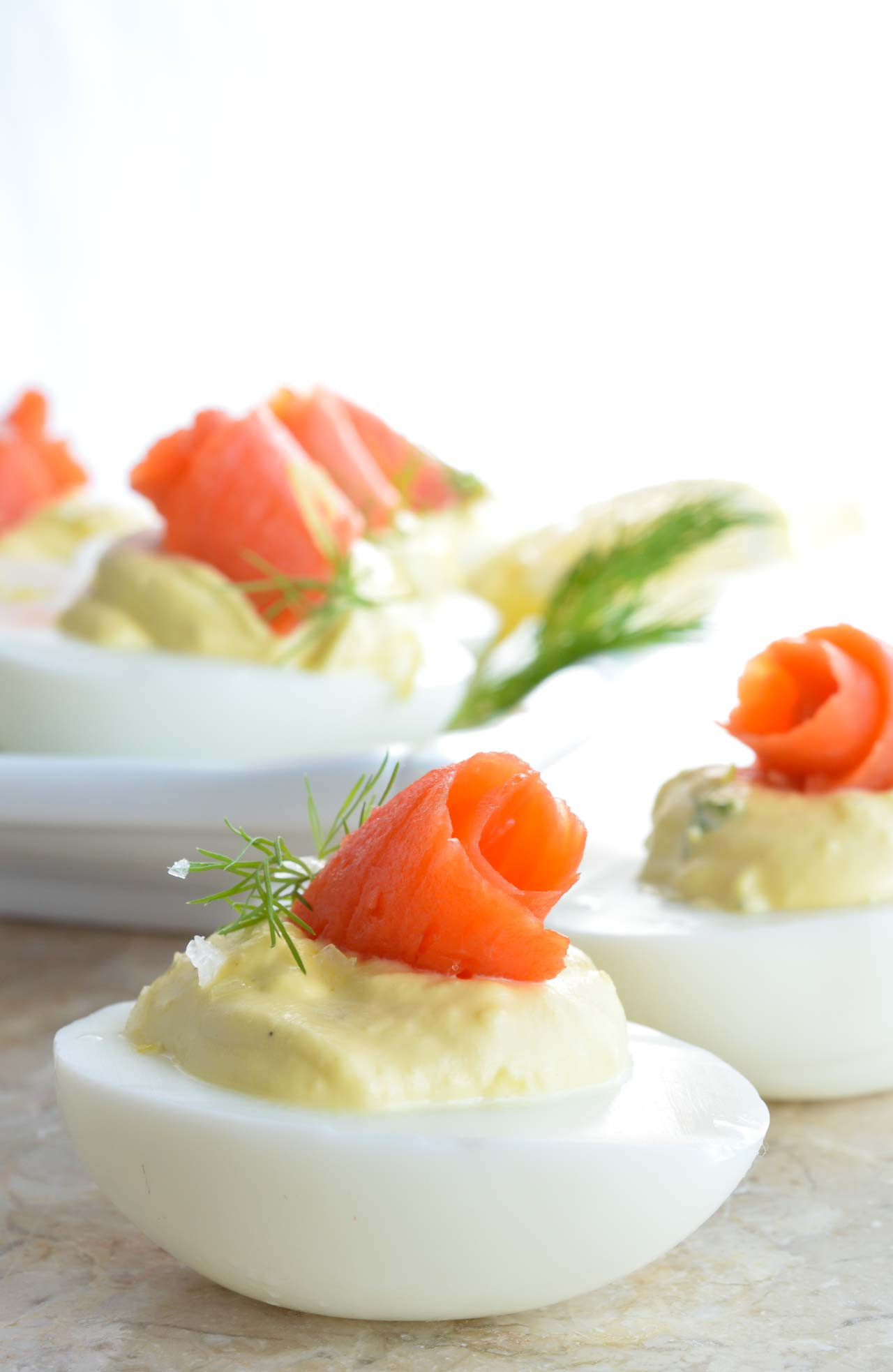 Smoked Salmon Deviled Eggs  Smoked Salmon Deviled Eggs Recipe WonkyWonderful