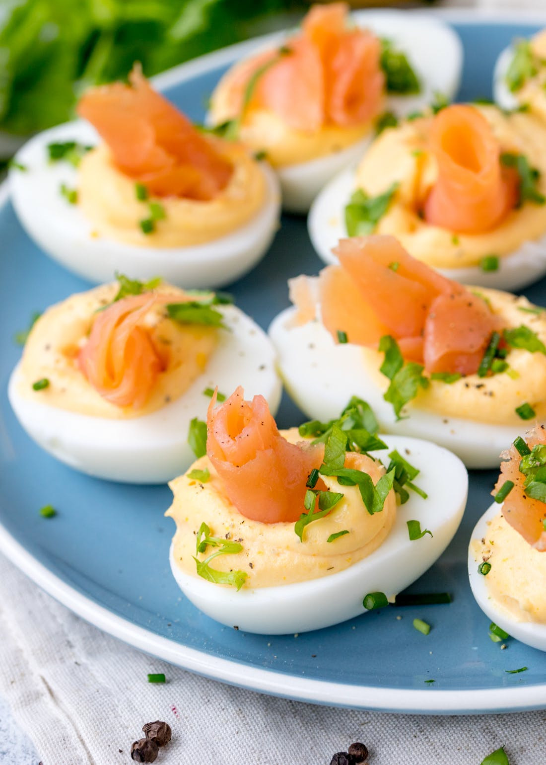 Smoked Salmon Deviled Eggs  Try Our Low Carb Smoked Salmon Deviled Eggs Recipe