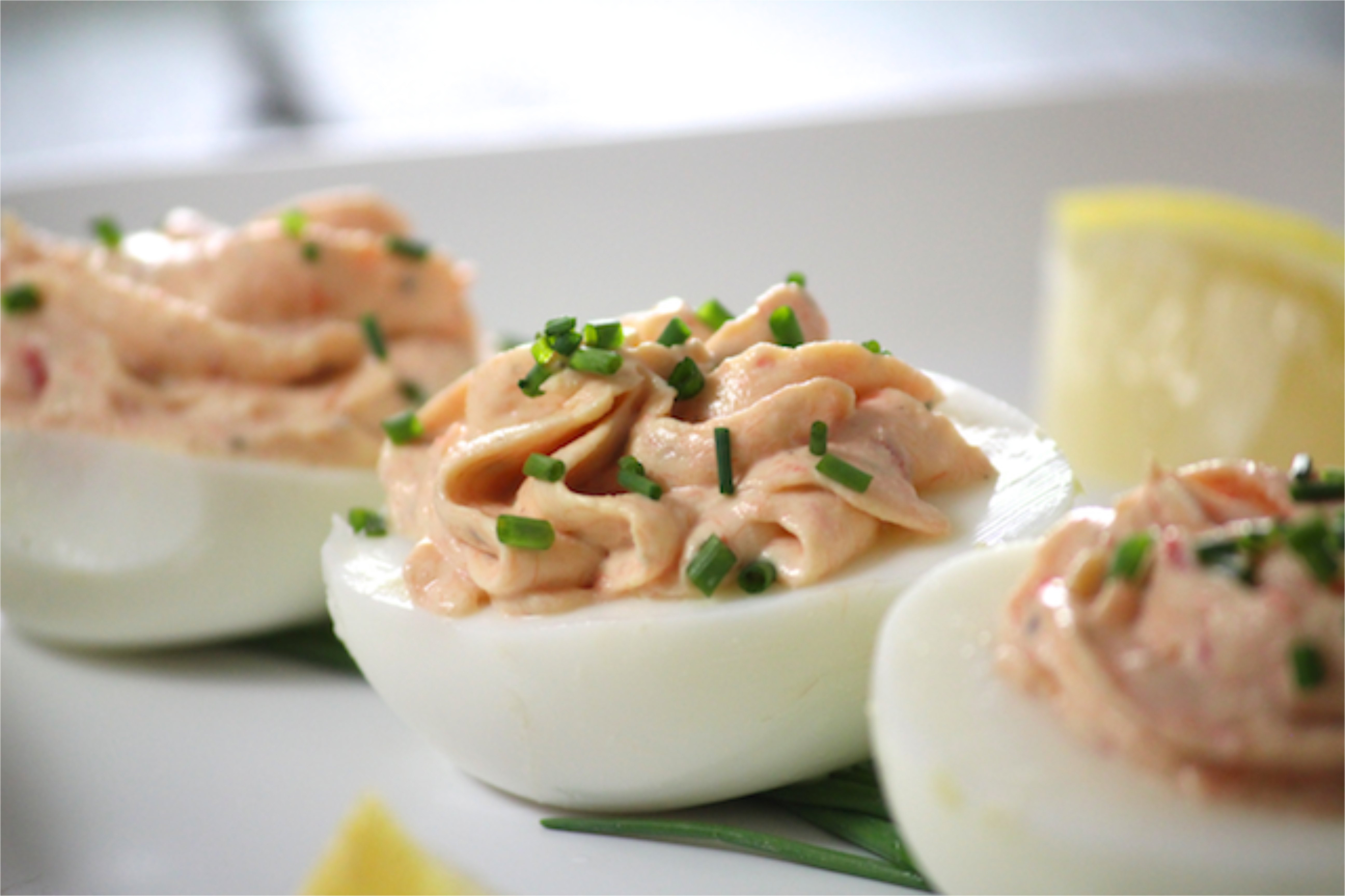 Smoked Salmon Deviled Eggs  Smoked Salmon Deviled Eggs Alaska from Scratch