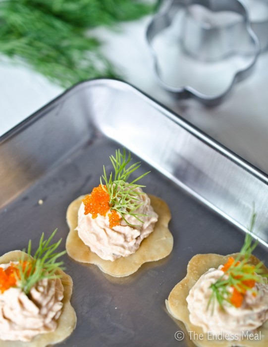 Smoked Salmon Mousse  Bite Sized Appetizers Smoked Salmon Mousse