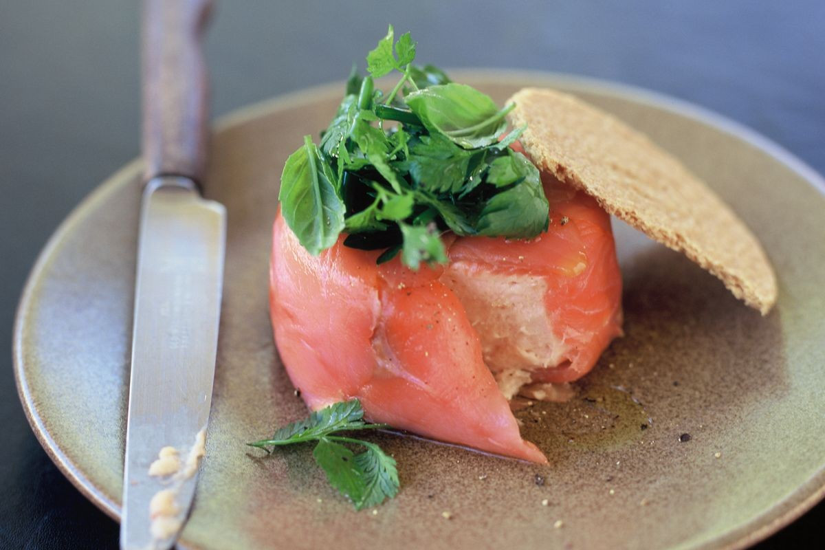 Smoked Salmon Mousse  Smoked salmon mousse Recipes delicious