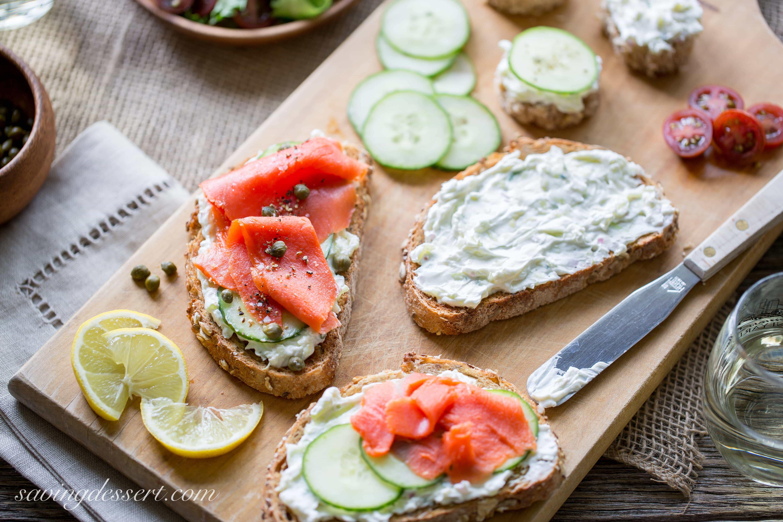 Smoked Salmon Recipes Appetizers  Smoked Salmon & Cucumber Cream Cheese Appetizers Saving