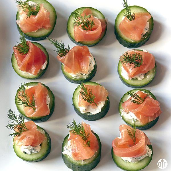 Smoked Salmon Recipes Appetizers  Smoked Salmon Cucumber Appetizer