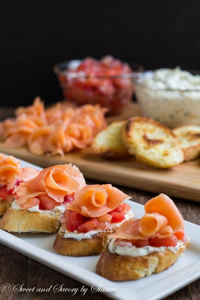 Smoked Salmon Recipes Appetizers  1636 best images about Party Food on Pinterest