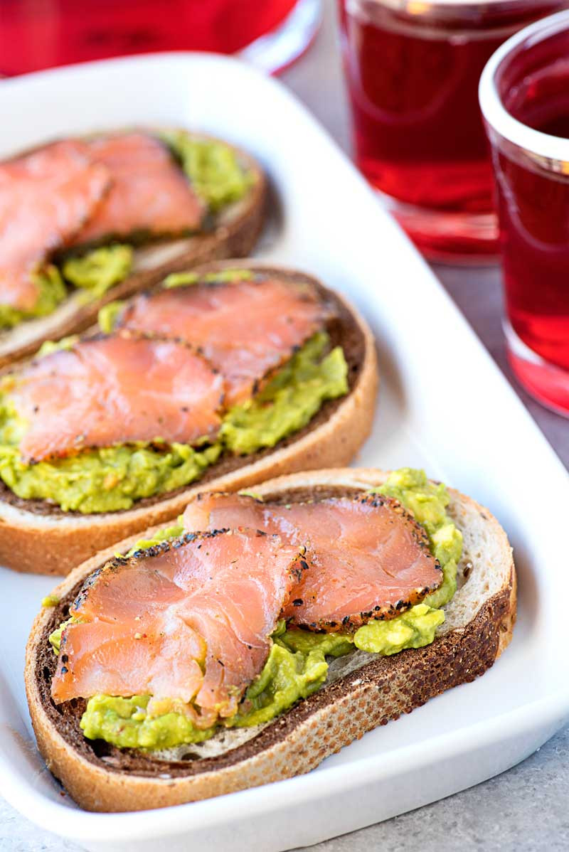 Smoked Salmon Recipes Appetizers  Smoked Salmon on Rye with Passion Tea Homemade Hooplah