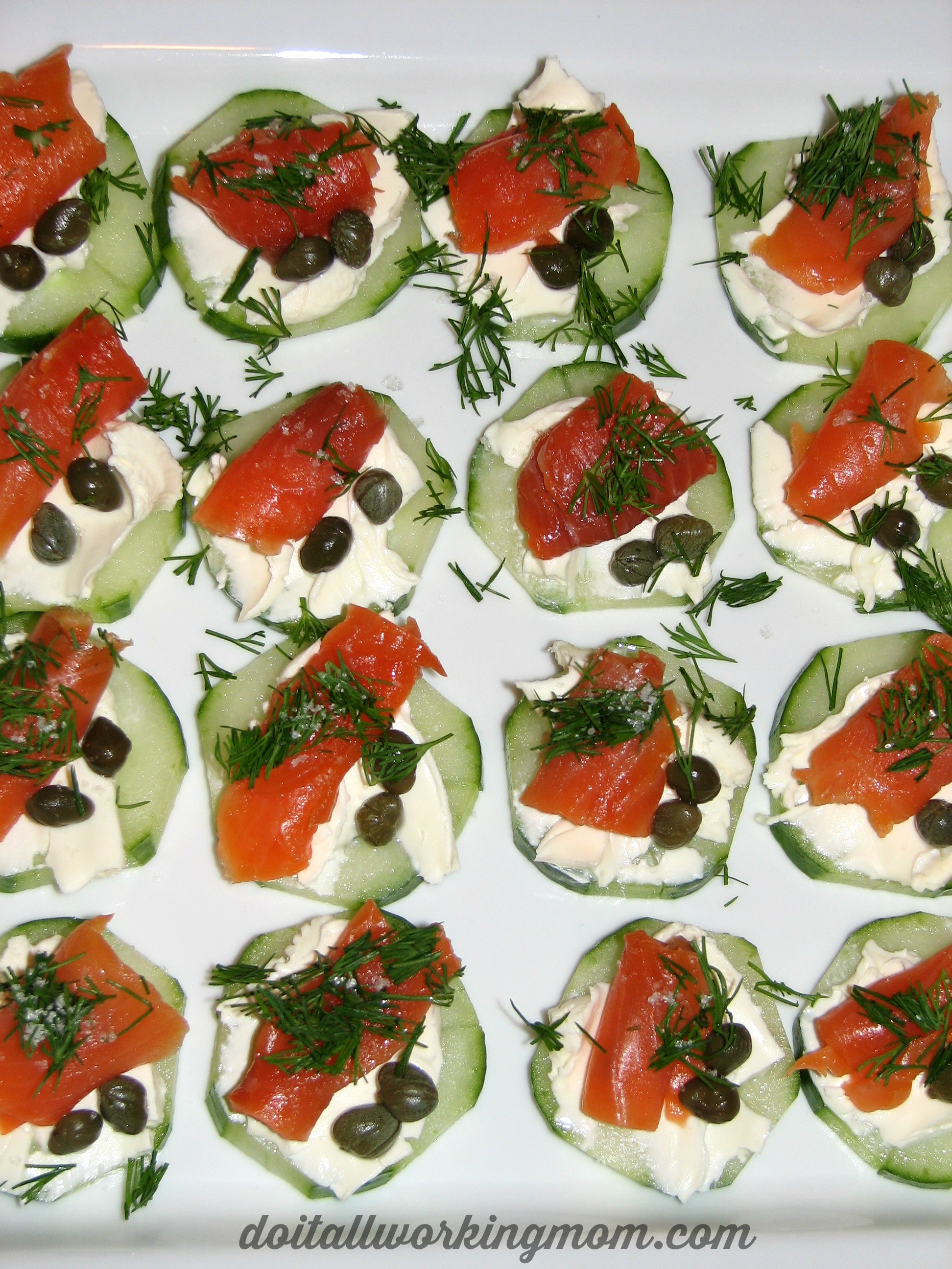 Smoked Salmon Recipes Appetizers  Cucumber and Smoked Salmon Appetizer Recipe Do It All