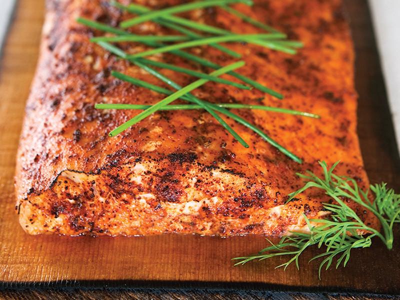 Smoked Salmon Rub  Ancho Citrus Glazed Salmon smoked or grilled