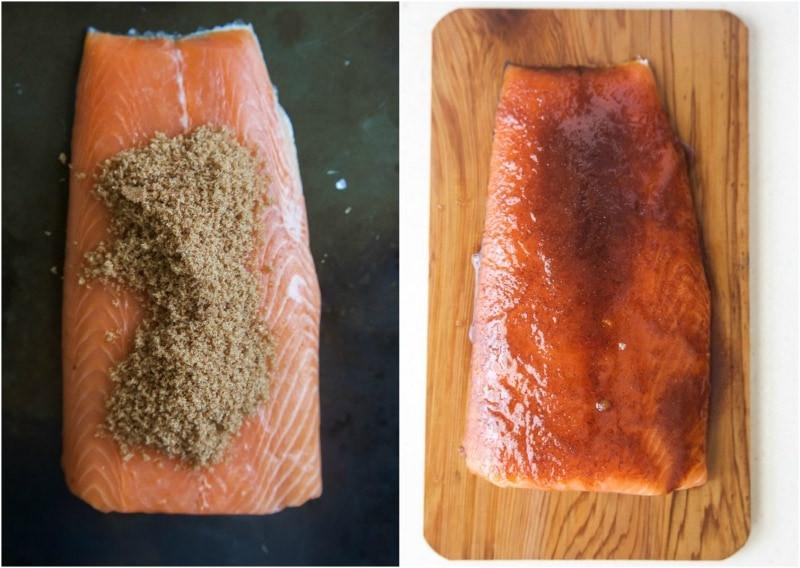 Smoked Salmon Rub  smoked salmon dry rub