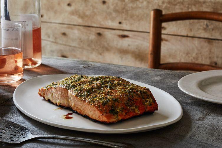 Smoked Salmon Rub  Quick Smoked Grilled Salmon Recipe on Food52
