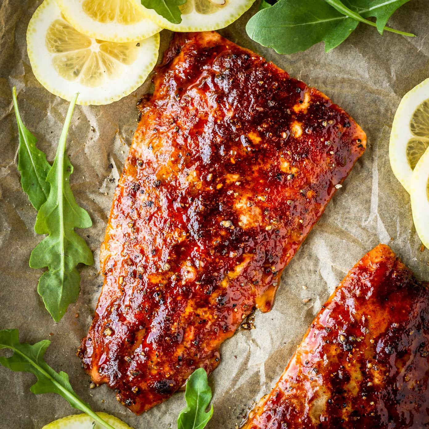 Smoked Salmon Rub  Sweet & Smoky Brown Sugar Grilled Cedar Plank Salmon