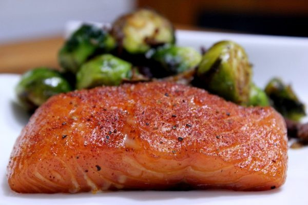 Smoked Salmon Rub  Cherry Smoked Salmon with Brussel Sprouts