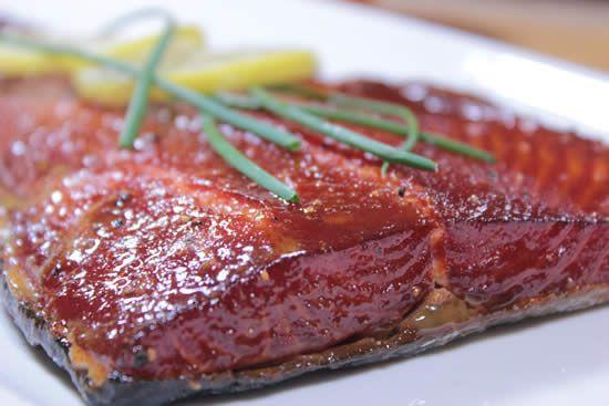 Smoked Salmon Rub  This maple glazed smoked salmon recipe is easy to make and