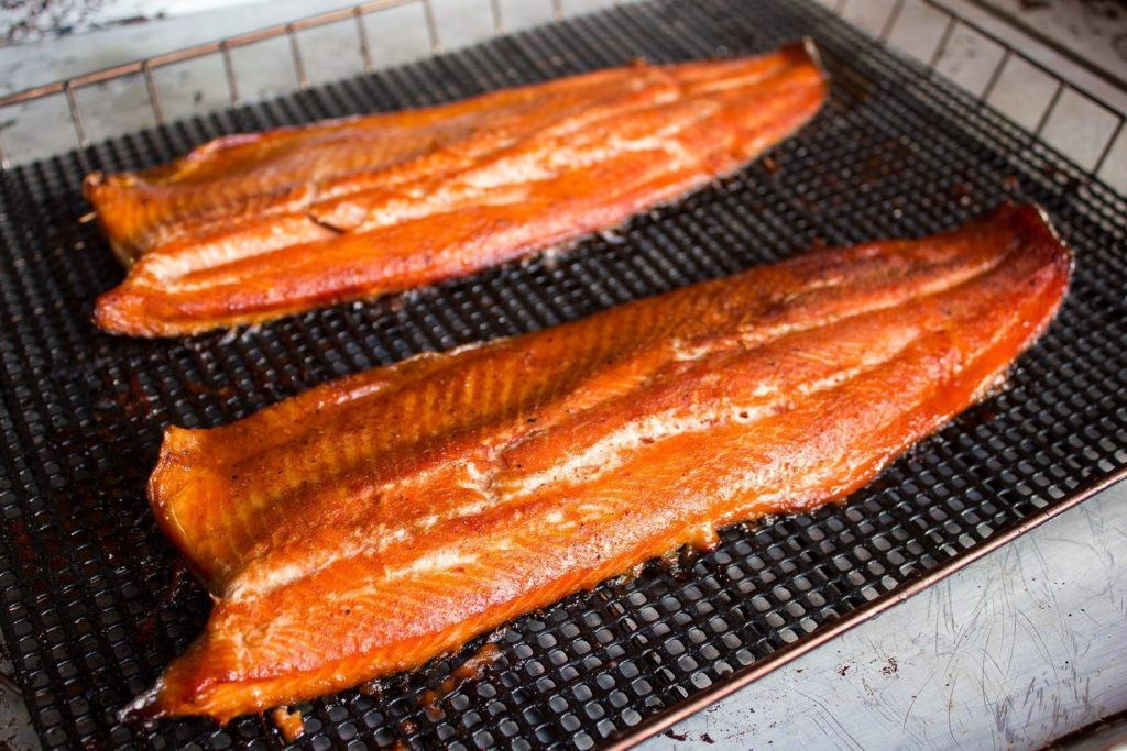 Smoked Salmon Rub  Smoked Rainbow Trout with a Brown Sugar Rub