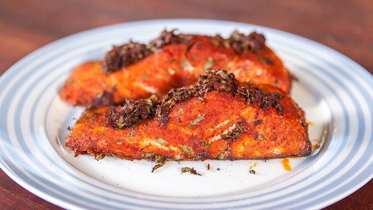 Smoked Salmon Rub  Smoked Salmon BBQ Recipe Heat Beads