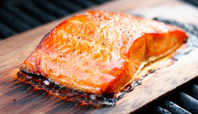 Smoked Salmon Traeger  salmon ahumado
