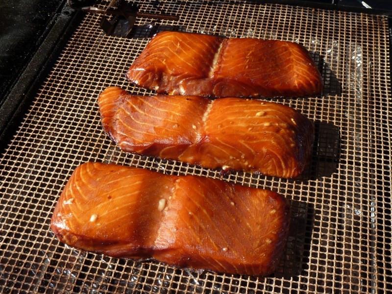 Smoked Salmon Traeger  Traeger PTG Hot Smoked Salmon Smokin Pete s BBQ
