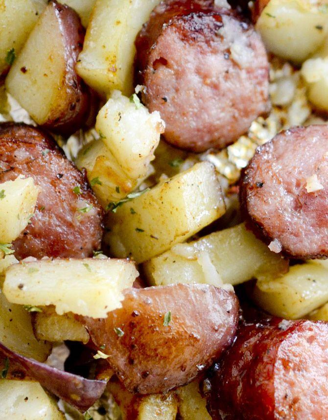 Smoked Sausage And Potato Bake  Best 25 Sausage and potato bake ideas on Pinterest