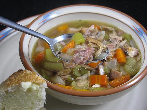 Smoked Turkey Soup  Smoked Turkey and Wild Rice Soup