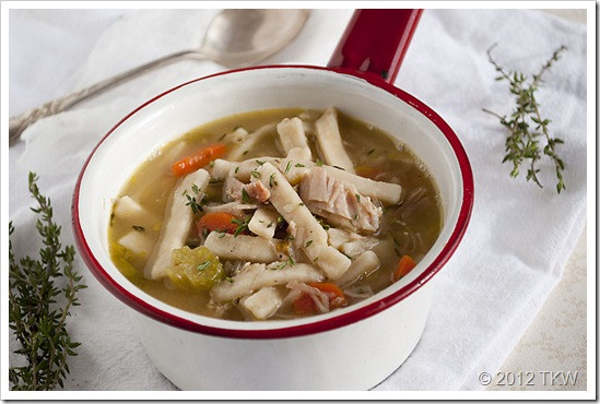 Smoked Turkey Soup  Smoked Turkey Noodle Soup