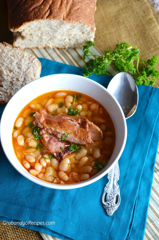 Smoked Turkey Soup  Smoked Turkey White Bean Soup