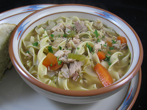 Smoked Turkey Soup  Easy Classic Turkey Noodle Soup