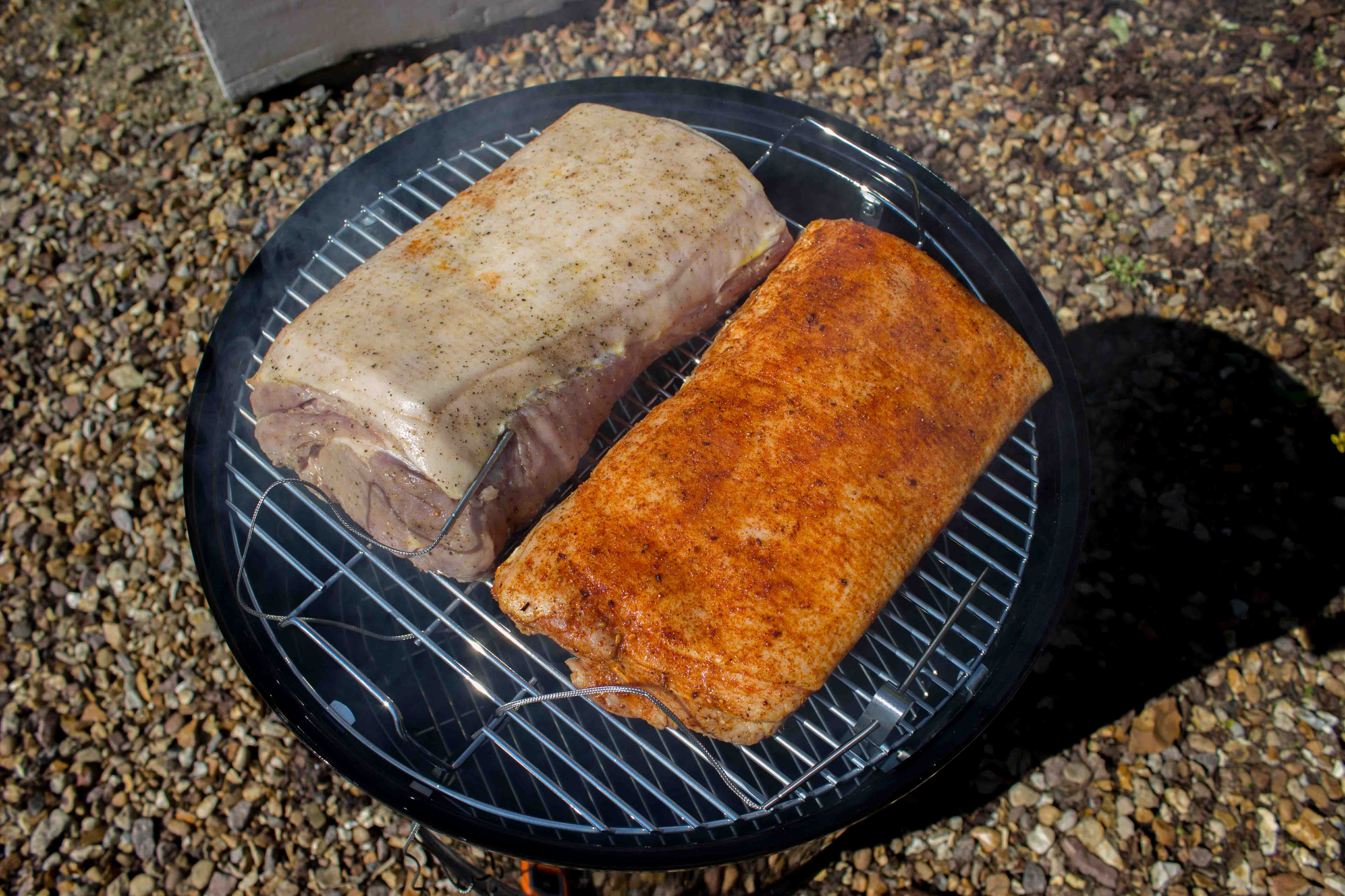 Smoking A Boneless Pork Loin  How to Smoke a Pork Loin King of the Coals