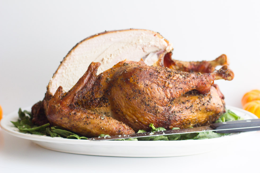 Smoking Whole Turkey  Whole Smoked Turkey Away From the Box