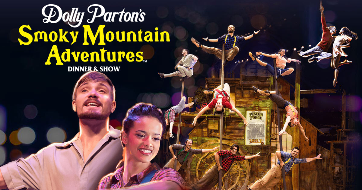 Smoky Mountain Adventure Dinner Show  Dolly Partons Smoky Mountain Adventures Dinner Show