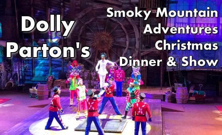 Smoky Mountain Adventure Dinner Show  Dolly Parton s Smoky Mountain Adventures Christmas Dinner