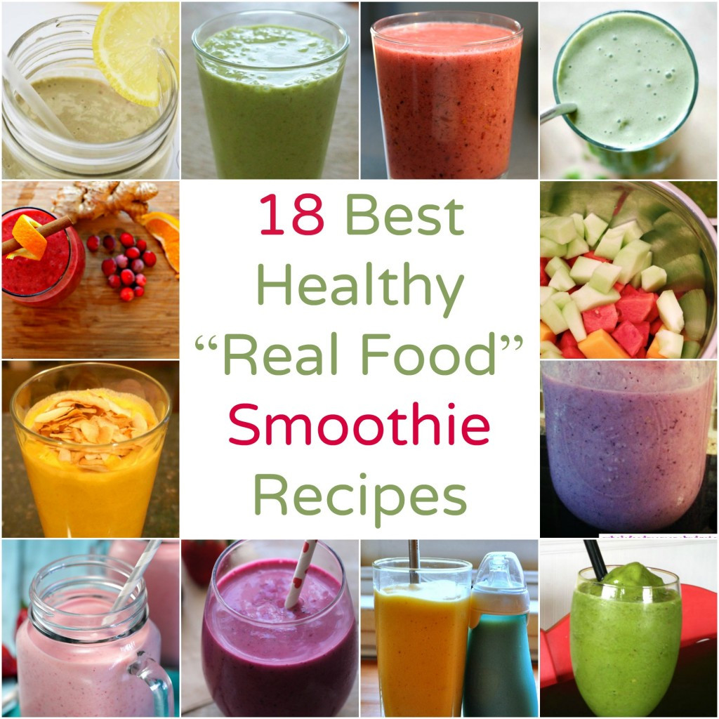 Smoothie Recipes Healthy  Smoothie Recipes