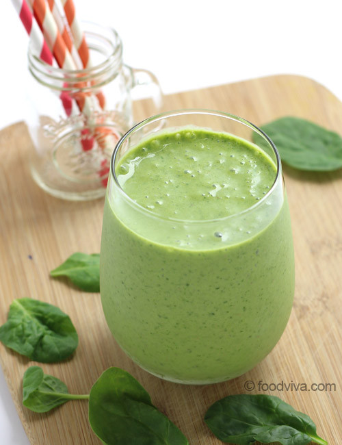 Smoothie Recipes With Spinach  spinach smoothie recipe