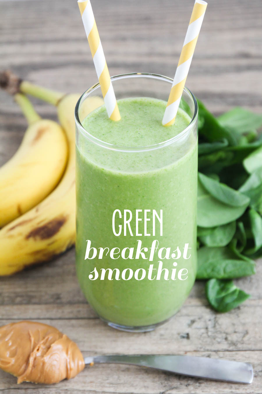 Smoothies For Breakfast  The Baker Upstairs Green Breakfast Smoothie