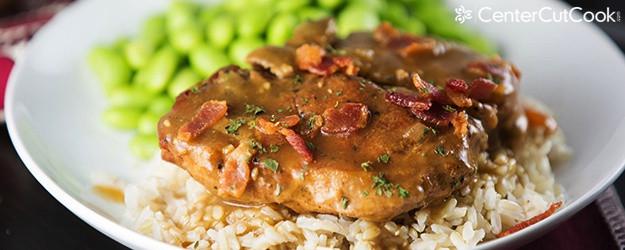 Smothered Pork Chops Slow Cooker  Slow Cooker Smothered Pork Chops Recipe