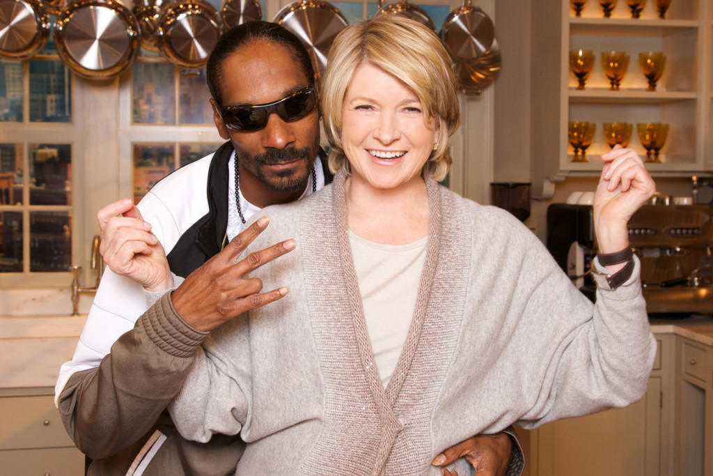 Snoop And Martha Dinner Party  Martha Stewart and Snoop Dogg Dinner Party