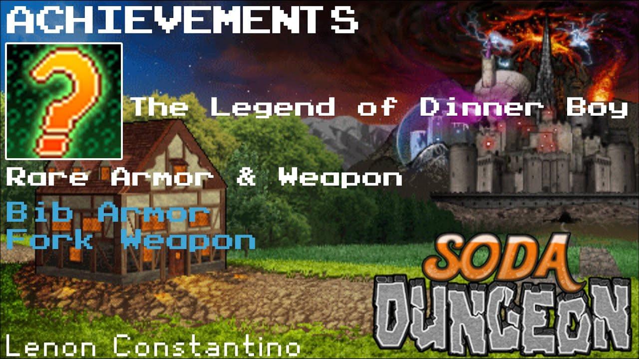 Soda Dungeon Dinner Boy  Soda Dungeon Achievement Guide The Legend of Dinner Boy