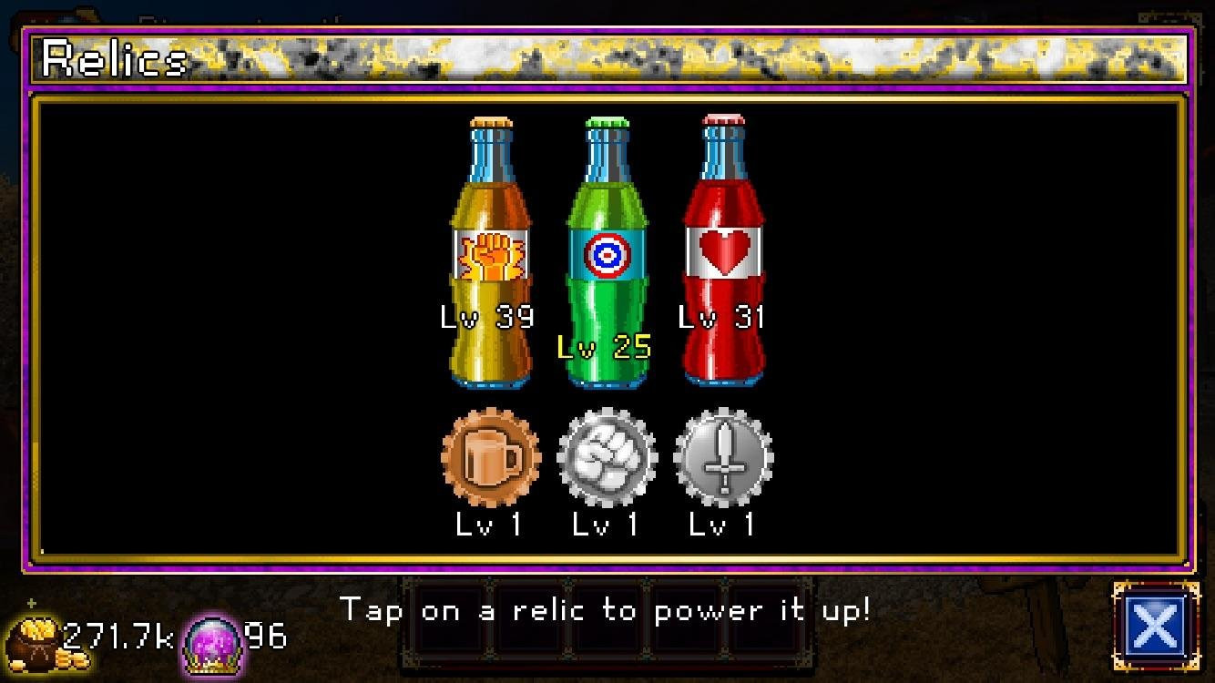 Soda Dungeon Dinner Boy  Am I ready for D5 should I continue farming for relics