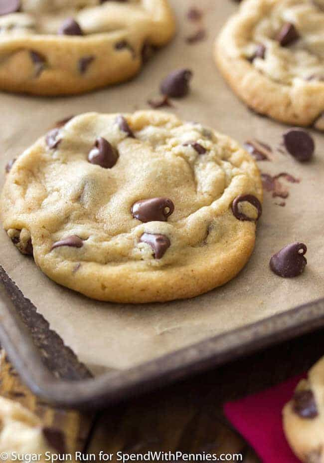 Soft Chewy Chocolate Chip Cookies  Perfect Chocolate Chip Cookies Spend With Pennies
