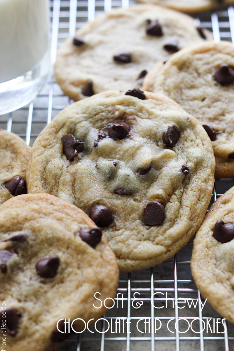 Soft Chewy Chocolate Chip Cookies  Soft and Chewy Chocolate Chip Cookies Pretty Providence