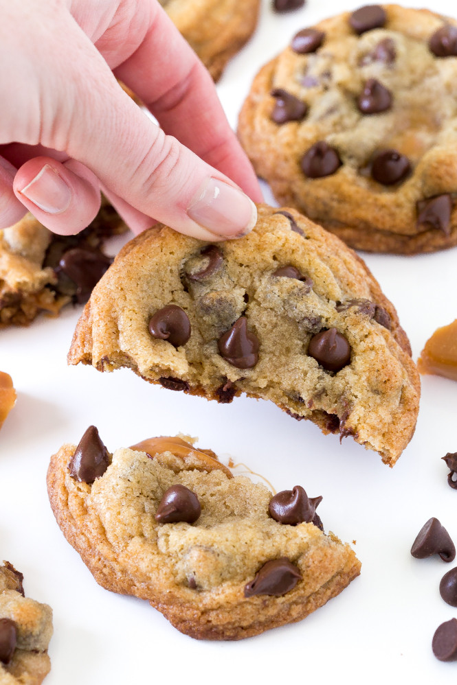Soft Chewy Chocolate Chip Cookies  super soft and chewy chocolate chip cookies