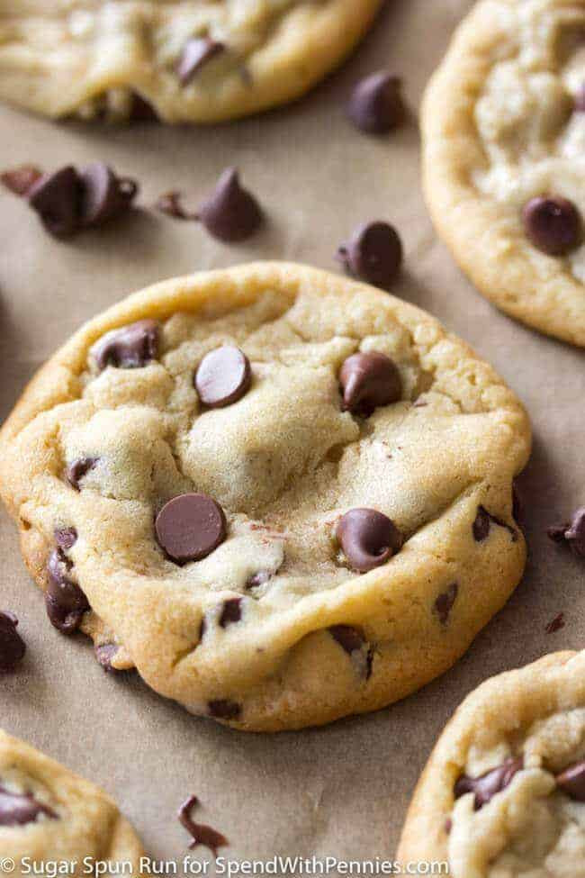 Soft Chewy Chocolate Chip Cookies  The Second Best Chocolate Chip Cookie Recipe Sugar Spun Run