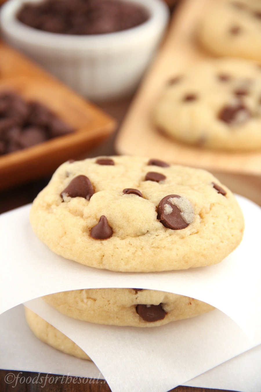 Soft Chewy Chocolate Chip Cookies  The Ultimate Healthy Soft & Chewy Chocolate Chip Cookies