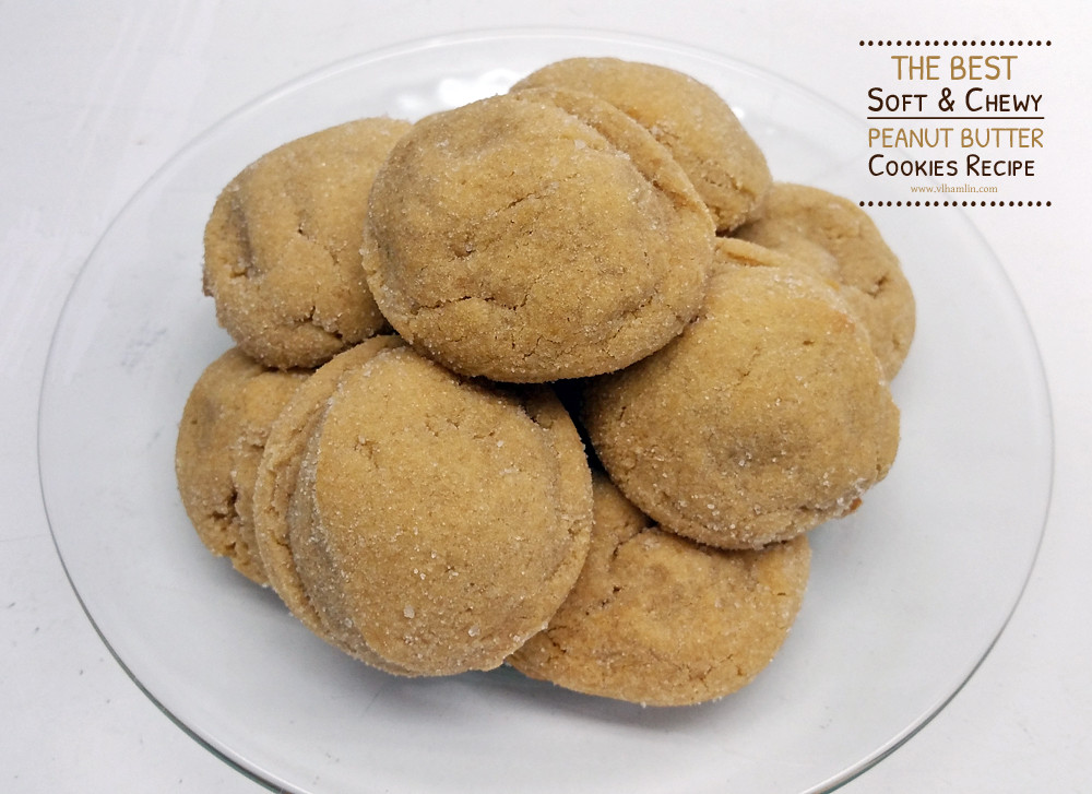 Soft Chewy Peanut Butter Cookies  The Best Soft and Chewy Peanut Butter Cookies Recipe